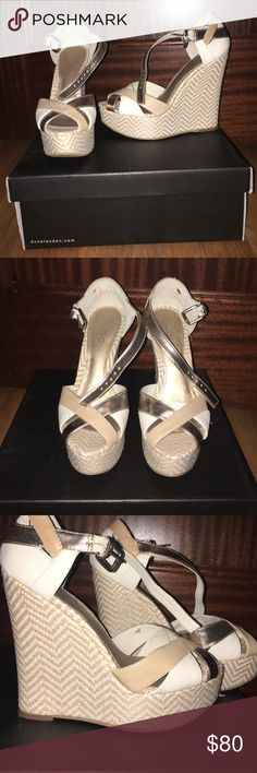 Aldo wedges Very good condition, worn only once! Aldo Shoes Wedges