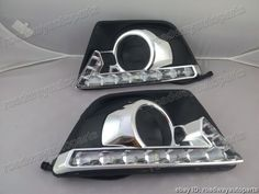 140.99$  Buy now - http://alixfp.worldwells.pw/go.php?t=32238622105 - 1 Set LED DRL daytime running lights for Ford Ecosport 2013