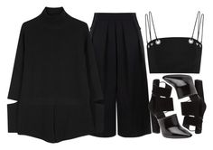"""""""Foundation"""" by isabella-scognamiglio ❤ liked on Polyvore featuring BIG PARK, STELLA McCARTNEY, Alexander Wang and Thierry Mugler"""