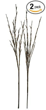 Floral Lights Lighted Willow Branch (set of 2 Branches) with 60 bulbs, 40 inches (Battery operated) - Amazon.com
