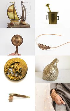 All About The Brass by Beatriz McDavid on Etsy--Pinned with TreasuryPin.com