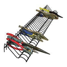 Heavy Duty All Steel Construction Pliers Storage Storage Solution Rack