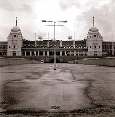 Old Wembley Stadium... (Doors, lighting)