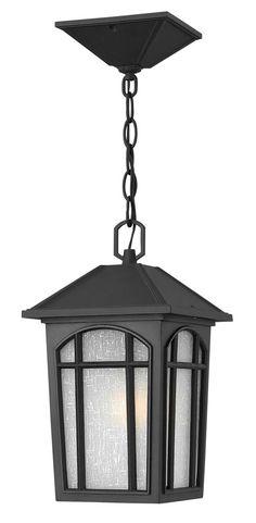 Cedar Hill Hanger Outdoor Shown In Black By Hinkley Lighting   1982BK LED Outdoor  Pendant