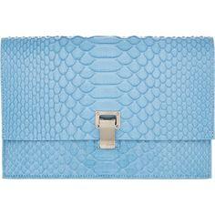 Proenza Schouler Python PS Small Lunch Bag at Barneys.com