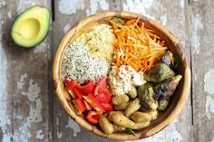 Dinner in under 10 minutes! Nourish Bowl has all your macronutrients in 1 easy to make meal in a bowl: