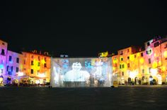 """E' #Natale"" Exhibit in Piazza #Anfiteatro, #Lucca 2013 Concept: Domenico Raimondi - @thesignLab https://www.facebook.com/thesignlab"