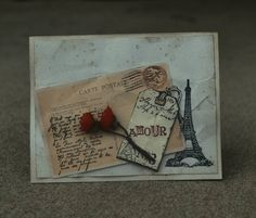 Amour in Paris-stepped up version by mamaxsix - Cards and Paper Crafts at Splitcoaststampers