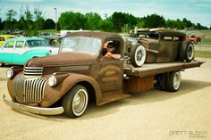 Double dose of cool -Towing and Auto Transporter Insurance for over 30 years www.TravisBarlow.com
