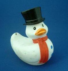 Rubba Duck - Frost Schneemann