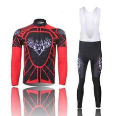 (Shipping with Express or Non-Express)2015 Fashion Cycling Jerseys Jersey For Men Long Sleeve Set Pants or bib vest breathable windbreaker perspiration performance * You can find more details by visiting the image link.