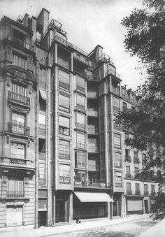 Apartamentos en Rue Franklin 25 bis 1902-1904 París