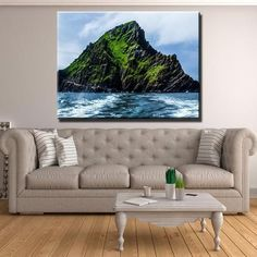 Down - Royal County Down Golf Club Canvas Print Wall Art Ocean Storm, Wall Art Prints, Canvas Prints, Ocean Canvas, Stormy Sea, Thing 1, Us Beaches, Donegal, 1 Piece