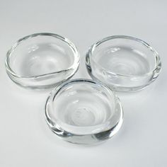 Portland glass artist Lynn Read creates these hand blown clear glass bowls with an impressive heft and lucidity. ($45)