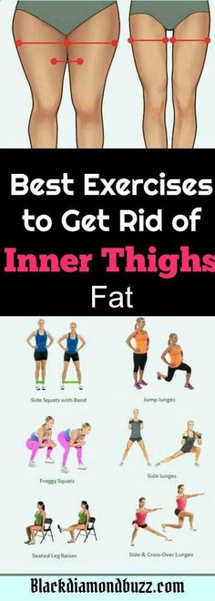 Excersices For Legs At Home and At The Gym - How do you get rid of inner thigh fat and tone up your inner thighs and legs? Here are the best exercises to get slim inner thighs in 2 weeks - Strengthening our legs is an exercise that we are going to make profitable from the beginning and, therefore, we must include it in our weekly training routine #losethighfatathome