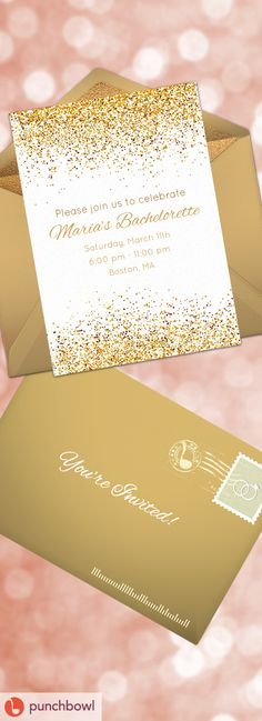 Paper invites are too formal, and emails are too casual. Get it just right with online invitations from Punchbowl. We've got everything you need for your bachelorette party. https://www.punchbowl.com/online-invitations/v/f/bachelorette?utm_source=Pinterest&utm_medium=79.1P
