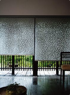 modern Japanese item, washi roll screen curtains #japanmodern
