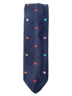 Thayer Solid Multi Dot Necktie