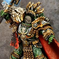 Your Miniature Painting Service Warhammer Figures, Warhammer Art, Warhammer 40000, Salamanders 40k, Salamanders Space Marines, Badass Pictures, The Horus Heresy, Space Wolves, Painting Services