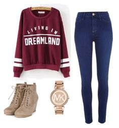 """""""Comfy and cute!!"""" by diniedge on Polyvore featuring River Island and Michael Kors"""