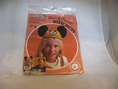 Brand new in the package! What Disney stitchery kit to make your own felt Mickey Mouse Club (Mouseketeers) hat. Everything included - all you have to