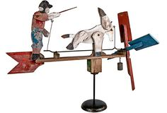 Large Wood Donkey & Farmer Whirligig Kinetic Toys, Candle Power, Hanging Bird Feeders, Red Tractor, Weather Vanes, Wind Spinners, Vintage Market, Yard Art, Windmill