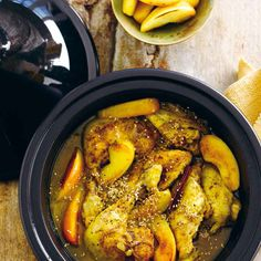 Le Creuset Tagine (Chicken with Apples)