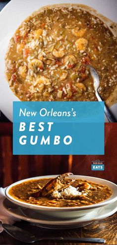 New Orleans Restaurant Recipe Gumbo Bowls.New Orleans' Restaurant Recipe Soup Bowls. 4 Best Gumbo Spots In New Orleans Southern Comfort Bed . Bite And Booze: Geaux Get Some Gumbo! Home and Family Best New Orleans Gumbo Recipe, Best Gumbo Recipe, New Orleans Recipes, Nola Gumbo Recipe, Authentic Gumbo Recipe New Orleans, Jambalaya Recipe, Creole Recipes, Cajun Recipes, Seafood Recipes