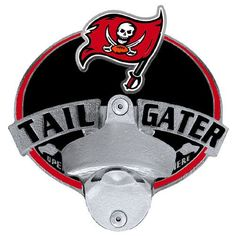 Tampa Bay Buccaneers Tailgater Hitch Cover Class III
