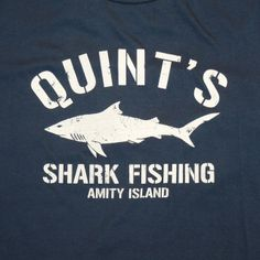Robert Shaw as Quint | JAWS T-SHIRT QUINT'S SHARK FISHING T-SHIRT JAWS T-SHIRTS