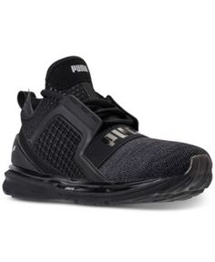 Puma Men's Ignite Limitless Knit Casual Sneakers from Finish Line - Black 11.5