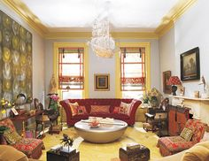 bohemian decorating style pictures | design labyrinth: Bohemian livingroom by Muriel Brandolini