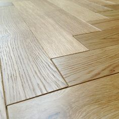 Loire Parquet Herringbone Oak Brushed Oiled Engineered Flooring 53cm x 8  £25