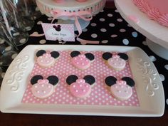 "Photo 20 of 31: Minnie Mouse / Birthday ""Kaitlyn's Minnie Mouse-Inspired 3rd Birthday Party"" 