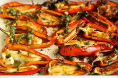 Try this easy and cheap vegetarian recipe for halloumi stuffed peppers - perfect for a BBQ