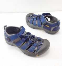 Keen Youth 2 US 1 UK 34 EU 21 CM Blue Sport Sandals Waterproof #Keen #SportSandals
