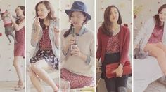 Valentines Day Outfits- 1 Dress 4 Ways, via YouTube.