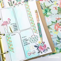 Easy planning layout video featuring June's @theplannersociety kit! Watch it on my YT Channel: The Janette Lane #theplannersocietykitclub