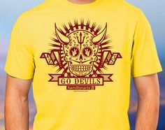 ASU Sundevils Go Devils T-shirt by hamiltonartsdesign on Etsy