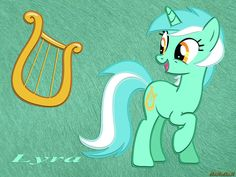Lyra Wallpaper by ArKrArK on deviantART Fluttershy, Mlp, Lyra Heartstrings, Twilight Sparkle, My Little Pony, Madness, Disney Characters, Fictional Characters, Deviantart