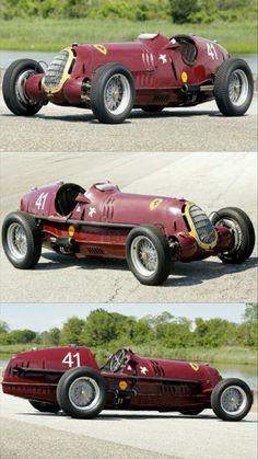 1935 Alfa Romeo Tipo C Produced in 6 copies Alfa Romeo Cars, F1 Racing, Le Mans, Cars And Motorcycles, Race Cars, Ferrari, Antique Cars, Cart, Classic Cars