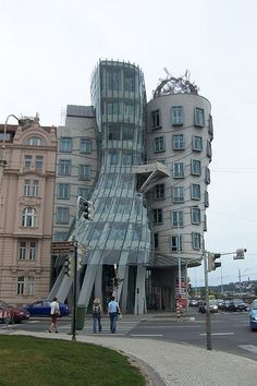 A unique building     .Nice