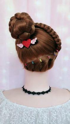 Cute Hairstyles For Medium Hair, Thin Hair Haircuts, Bride Hairstyles, Headband Hairstyles, Hairstyle Braid, Beautiful Hairstyles, Braided Hairstyles Tutorials, Easy Hairstyles, Heatless Hairstyles
