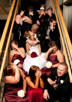 To make your wedding unforgettable: 30 great ideas for fun wedding photos. Here are 30 incredibly funny wedding photo ideas that will allow everyone i. Perfect Wedding, Dream Wedding, Wedding Day, Trendy Wedding, Wedding Shot, Wedding Ceremony, Sydney Wedding, Timeless Wedding, Wedding Receptions