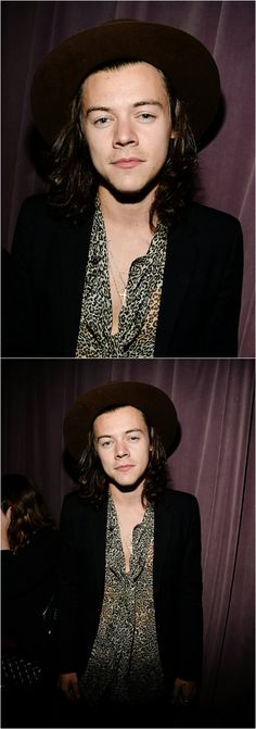 #Harry Styles ❥ At a rolling stones concert recently