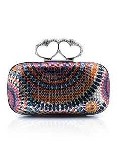 Ethnic Pattern Beaded Women s Evening Bag Ethnic Patterns f89102e153bed