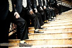 Yellow socks are such a cool groomsmen gift idea!