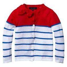 Tommy Hilfiger Gigi Mini Stripe Cardigan | £24.00