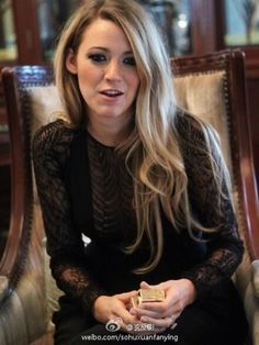 Blake Lively China on June 28 2013