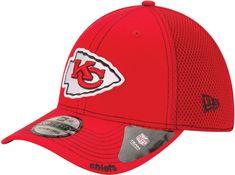 low priced 9efda cf535 New Era Men s Kansas City 39Thirty Neo Red Stretch Fit Hat, Size  Medium